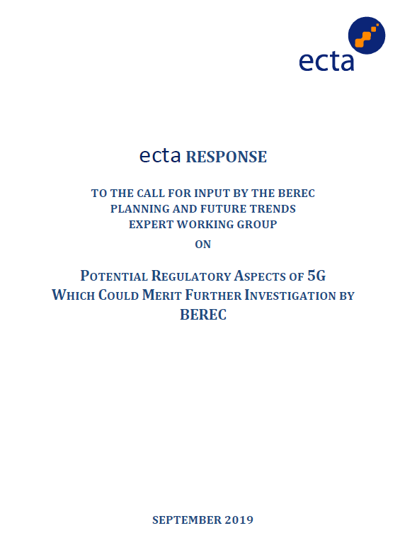 ecta Response to BEREC PC on QoS Parameters Page 01